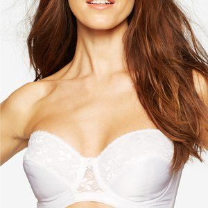 Carnival Full-Coverage Lace Strapless Bra